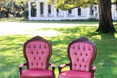 Antique Lounge Chairs- Lucy and Ethel