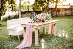 Sweetheart Table. Jennifer G Photography