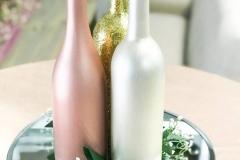 Wine Bottle Centerpiece